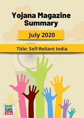 Yojana Magazine Summary: July 2020