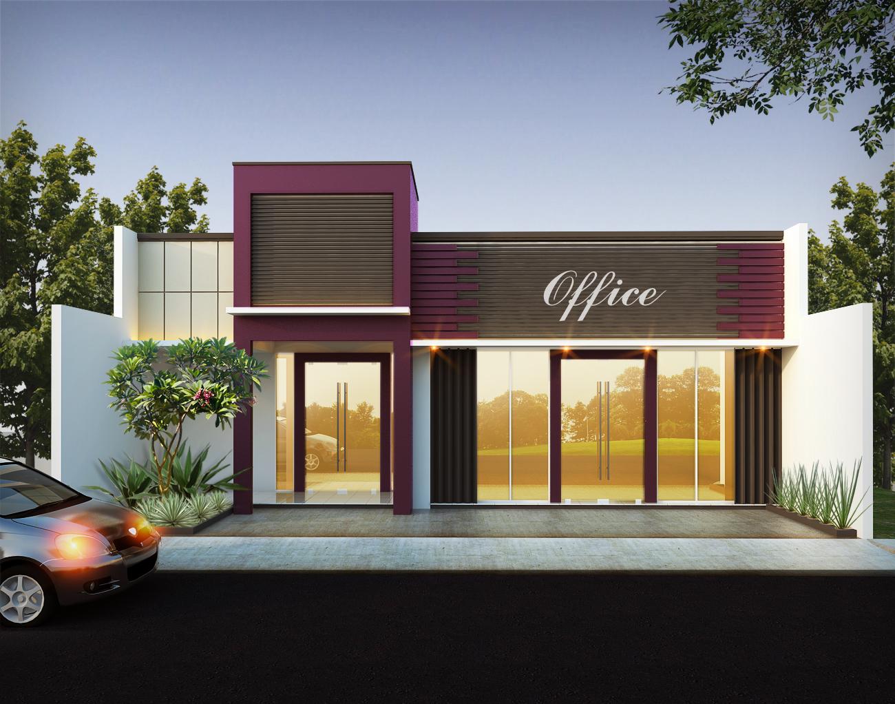 20 Model Desain Kios Minimalis Modern Terbaru 2020