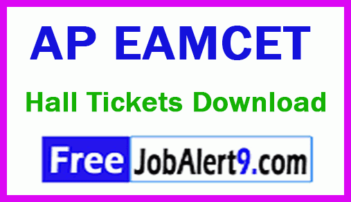 AP EAMCET Hall Tickets Download 2019