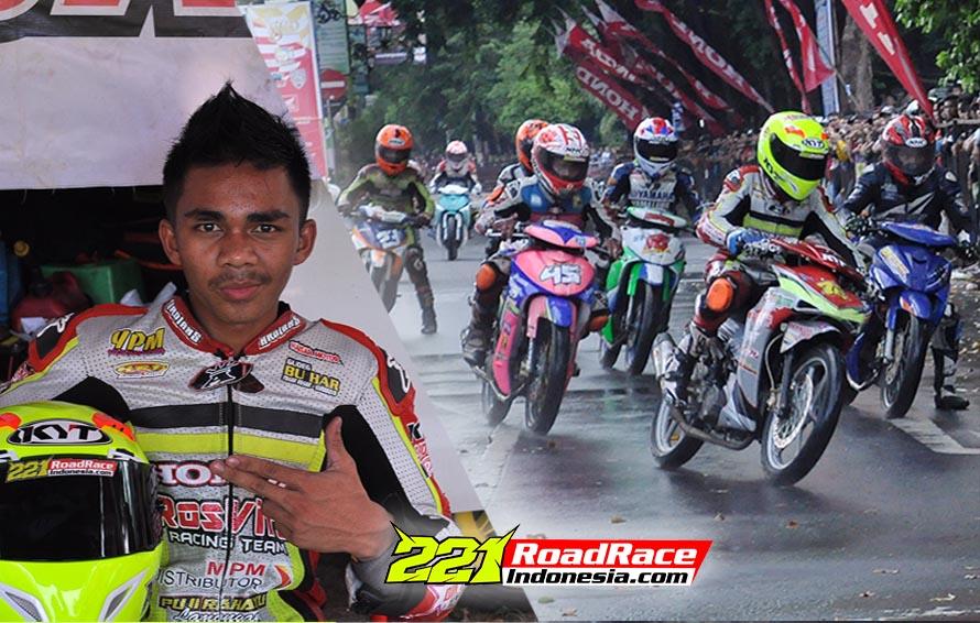Onde Mande, Road Race JATIM Kedatangan Tamu Penjinak Blade Dari Ranah Minang