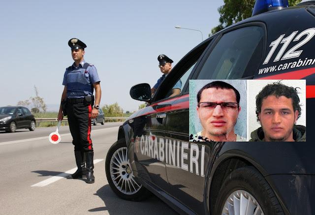 Grazie Carabinieri, grazie Italia!