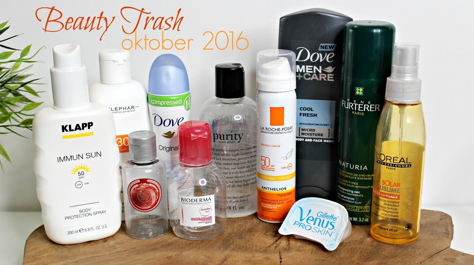 beauty trash oktober 2016