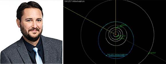 Will Wheaton (Wesley Crusher in Star Trek The Next Generation) e l'asteroide a lui intitolato dalla NASA- TG TREK: Notizie, Novità, News da Star Trek