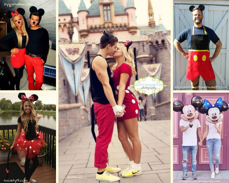L abbigliamento da carnevale più classico è quello sicuramente dedicato  alla coppia più conosciuta del mondo  Minnie e Mickey Mouse. 3119ae79348