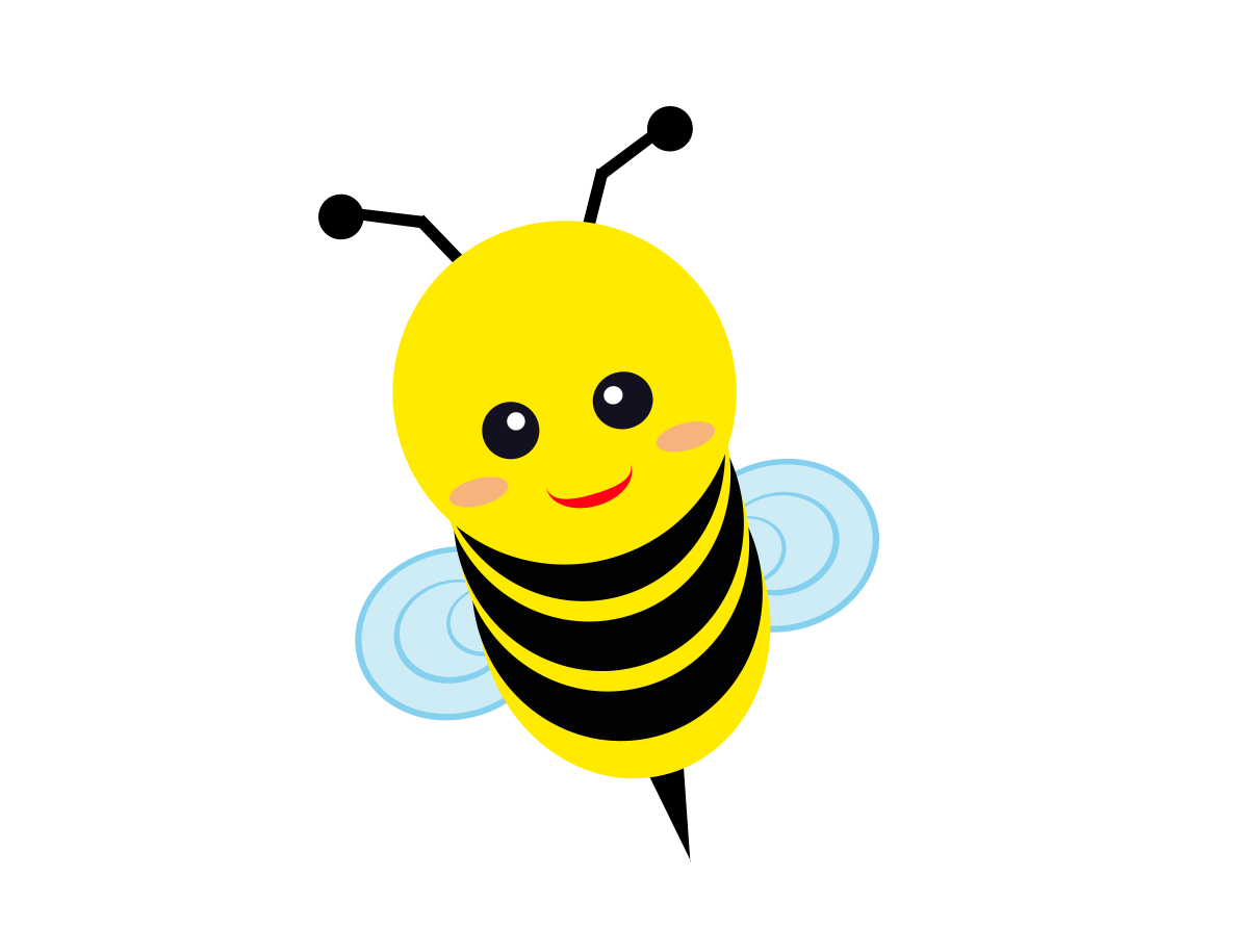 Free Flying Bee Cliparts PNG Download