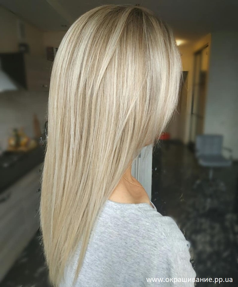 Красивая покраска волос фото