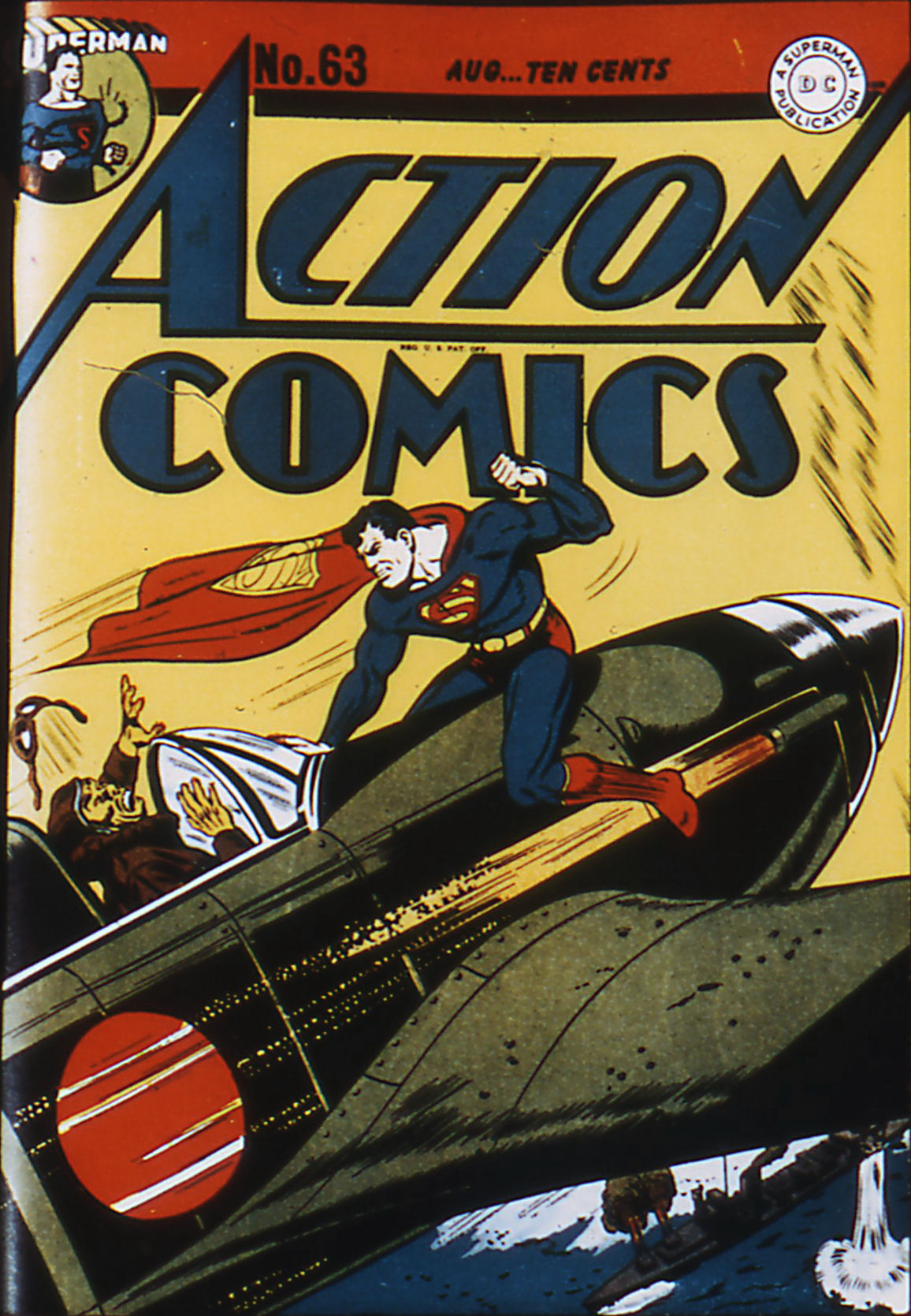 Read online Action Comics (1938) comic -  Issue #63 - 1