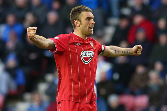 Rickie Lambert was the joint-top English scorer in the Premier League last season