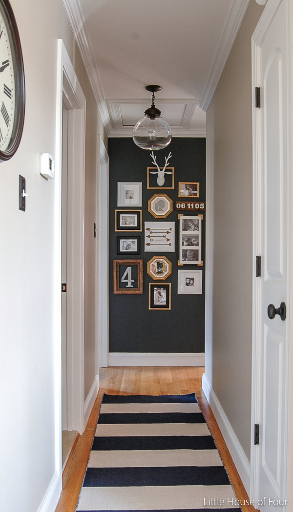 How to create a gallery wall with thrifted items and dollar tree frames