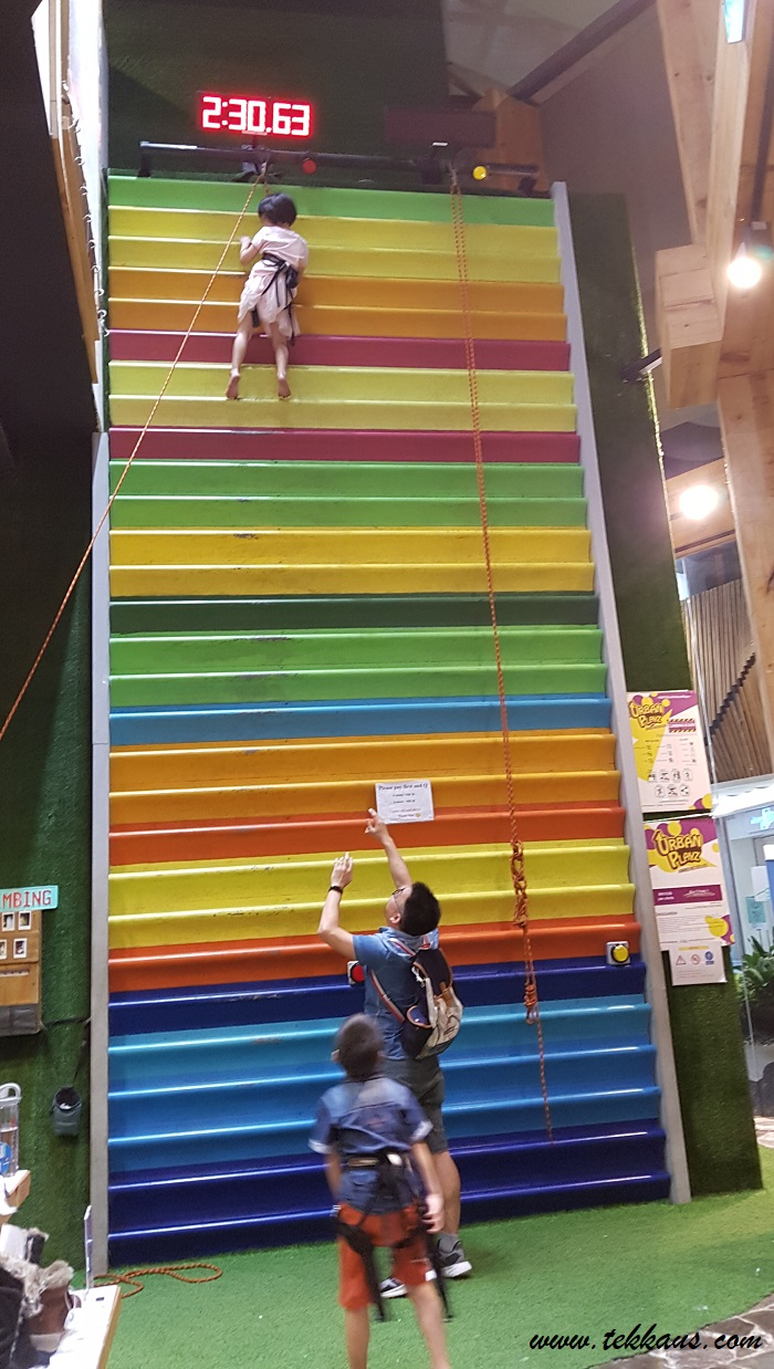 The Rainbow Climbers @ Urban Playz Wall Climbing