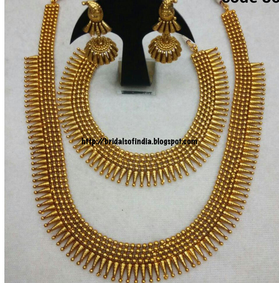 Fashion world: Mullamottu Mala - Traditional kerala jewellery