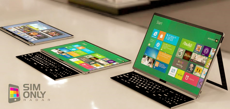 Samsung Galaxy Tab Slide Tablet Render Fitur Keyboard Sliding