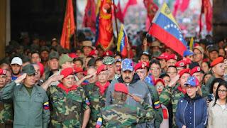 """Maduro presume de tener """"muchos amigos"""" en el mundo y acusa a Trump de """"patear"""" el diálogo"""
