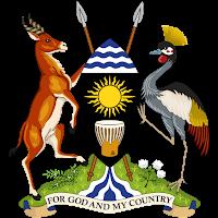 Logo Gambar Lambang Simbol Negara Uganda PNG JPG ukuran 200 px