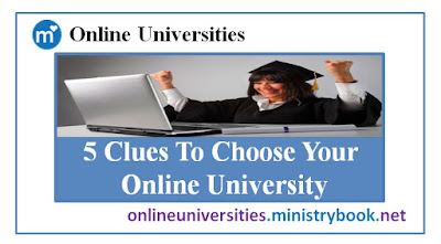 5 Clues To Choose Your Online University