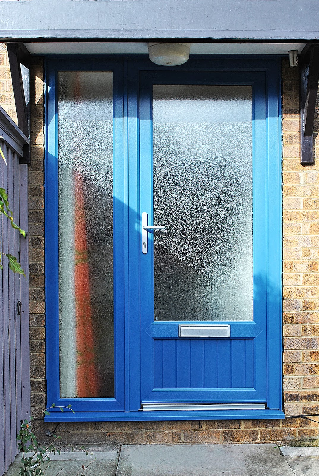 A Colorful Installation Unique Blue Front Upvc Door Feels Like Home