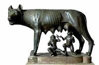 La lupa, Romolo e Remo. Storia di Roma