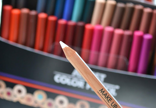 MAKE UP FOR EVER Artist Color Pencil Review with Swatches