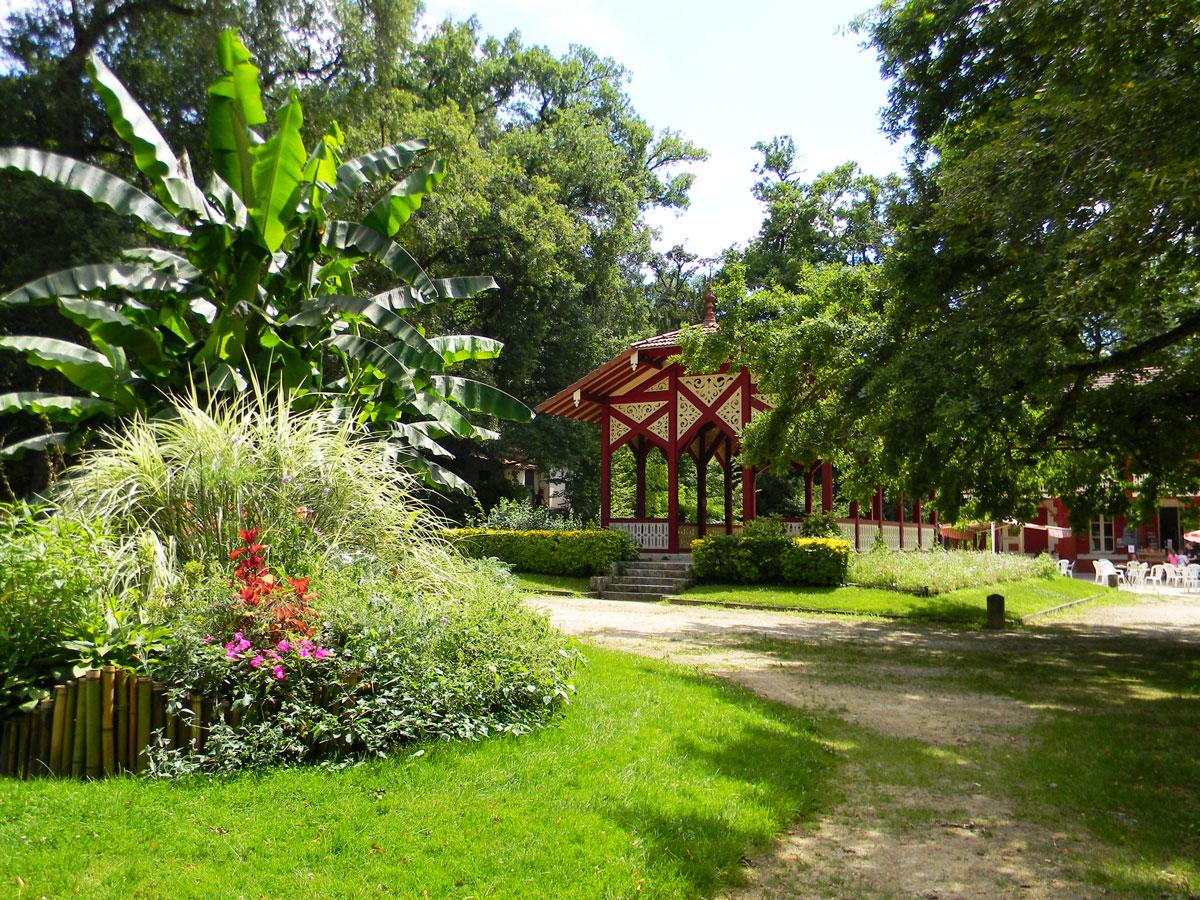 Semaine de vacances à Nérac, Lot-et-Garonne - Parc de la Garenne