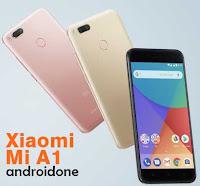 Ponsel ini sesungguhnya telah diperkenalkan di China pada bulan Juli  Xiaomi Mi A1