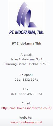 PT.Indofarma,Tbk