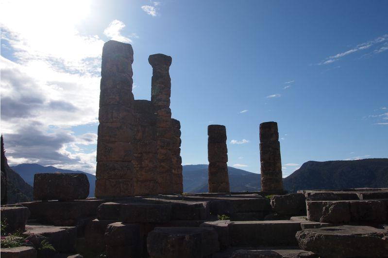 Apollontempel Delphi Griechenland