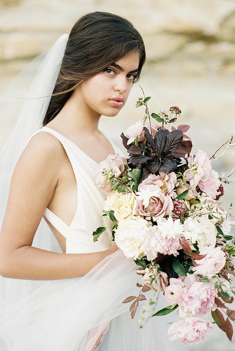 Torrey Pines Beach Bridal Inspiration By Matoli Keely