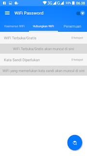 cara bobol wifi dengan aplikasi Wifi Password