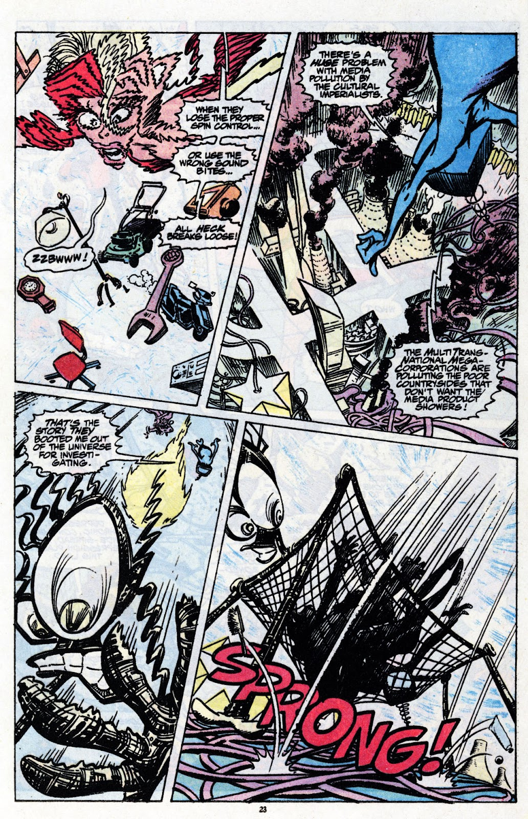 The New Mutants Summer Special issue Full - Page 25