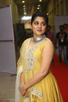 Nivetha Thamos in bright yellow dress at Ninnu Kori pre release function ~  Exclusive (41).JPG