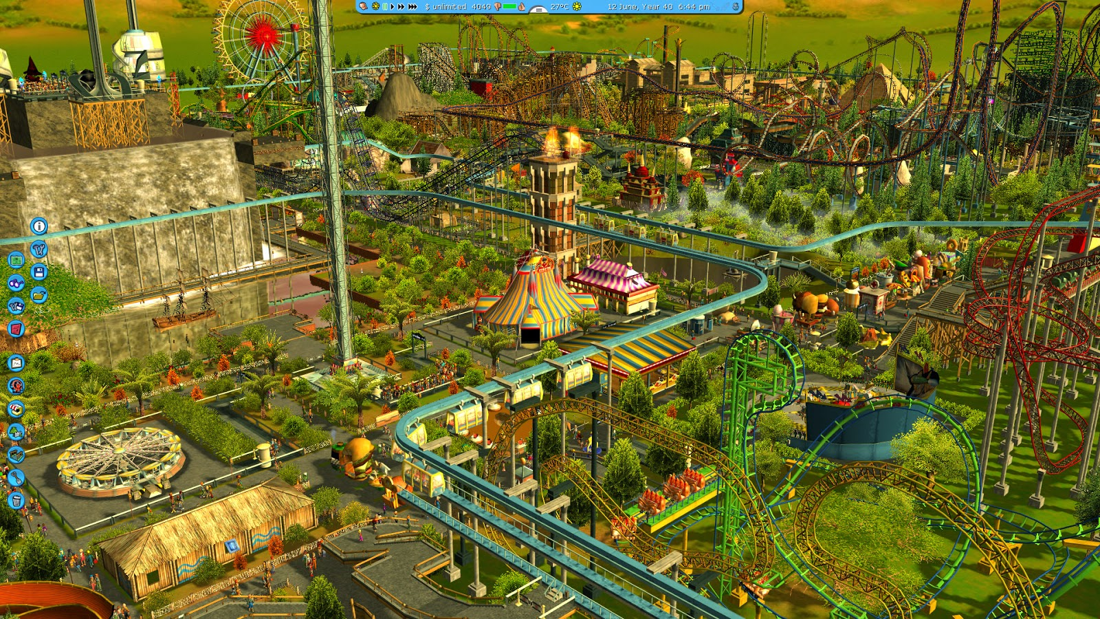 Porting Kit | 'Rollercoaster Tycoon' for macOS