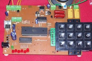 atmel at89c51 office home security system circuit diagram