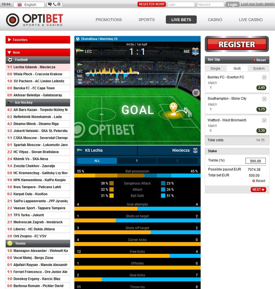 Optibet Sportsbook