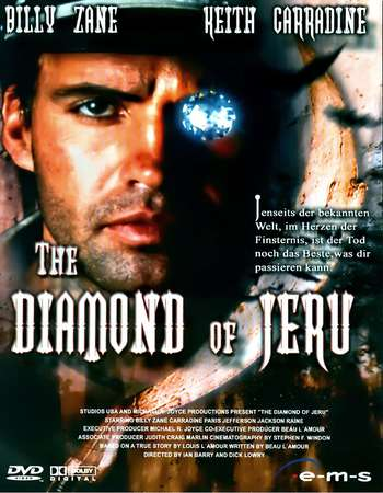 Poster Of The Diamond of Jeru 2001 Dual Audio 750MB DVDRip [Hindi - English] Free Download Watch Online downloadhub.net