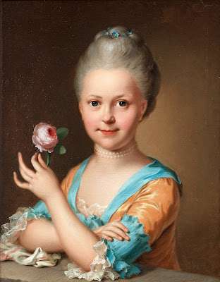 Young Girl With a Rose, Ulrika Pasch
