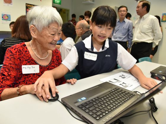 Intergenerational IT bootcamp