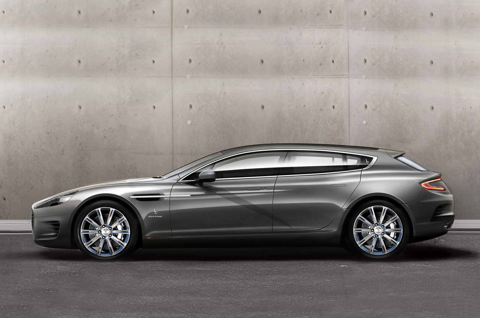Davide458italia: Bertone Aston Martin Rapide Shooting Brake