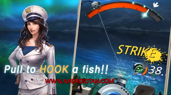 Free Download Kail Pancing Fishing Hook Mod Apk v1.3.2 (Unlimited Money/Ads Free) Android Full Latest Version Terbaru 2017