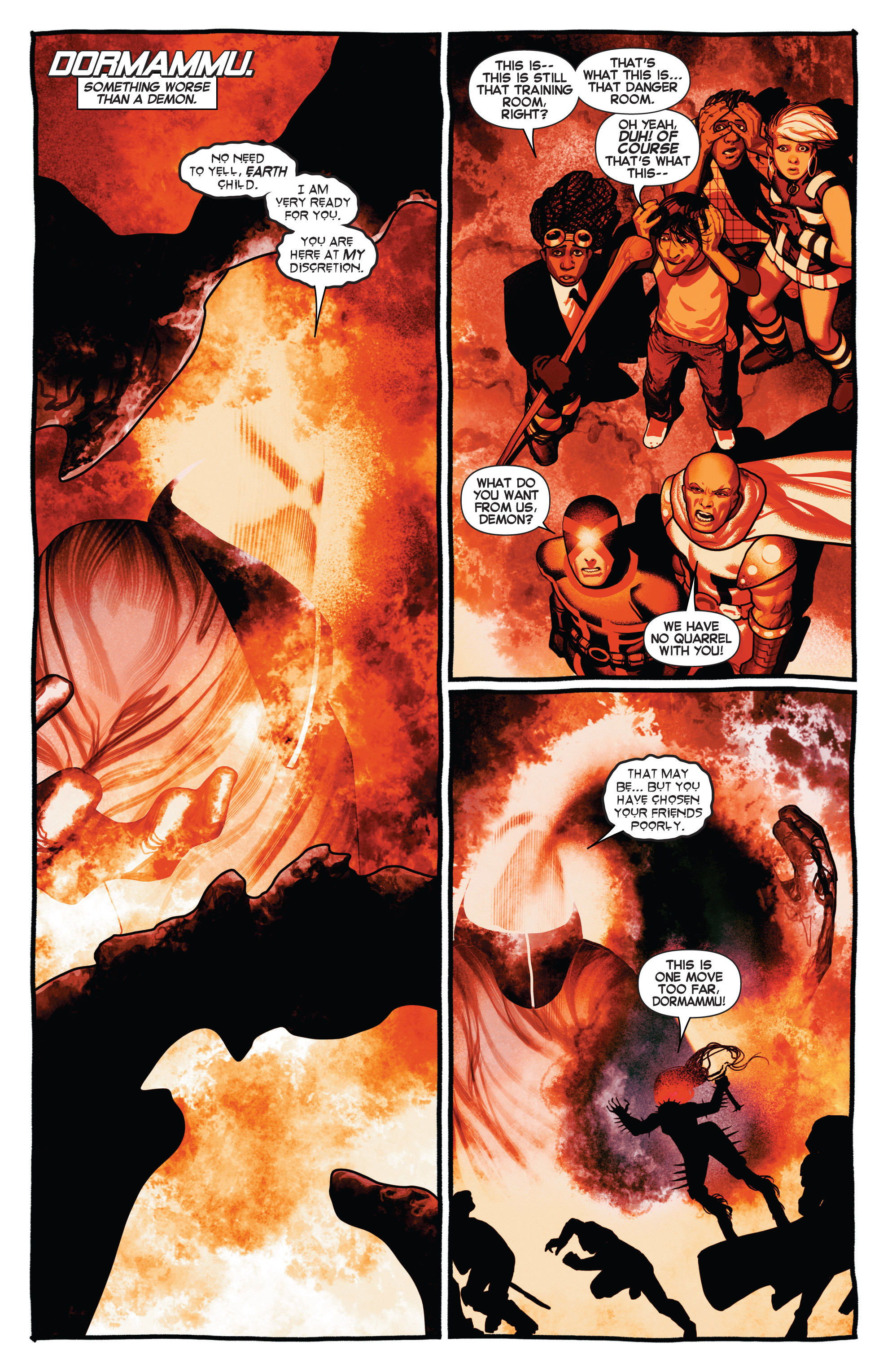 Read online Uncanny X-Men (2013) comic -  Issue # _TPB 2 - Broken - 10