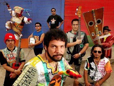 Foto de la banda La Sarita posando
