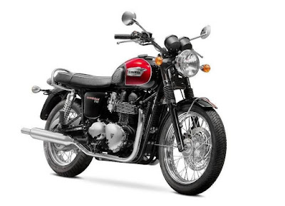 2016 Triumph Bonneville T100 side view profile image