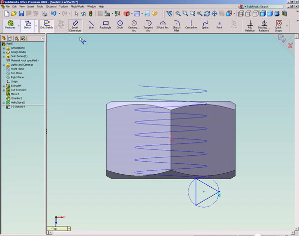 solidworks tutorial how to draw a nut solidworks share rh solidworks99 blogspot com SolidWorks Store SolidWorks Simulation