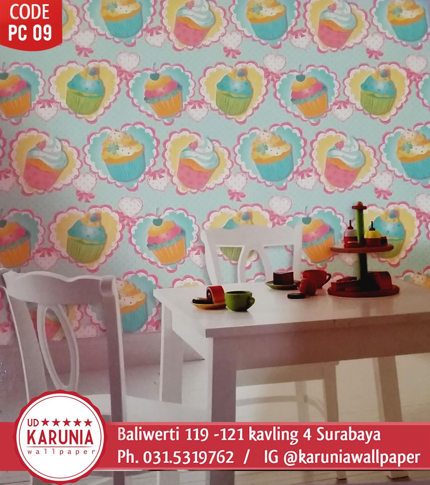 jual wallpaper dinding warna warni ceria