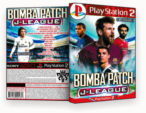 JOGO PS2 – Bomba Patch J-League 2019  – ISO