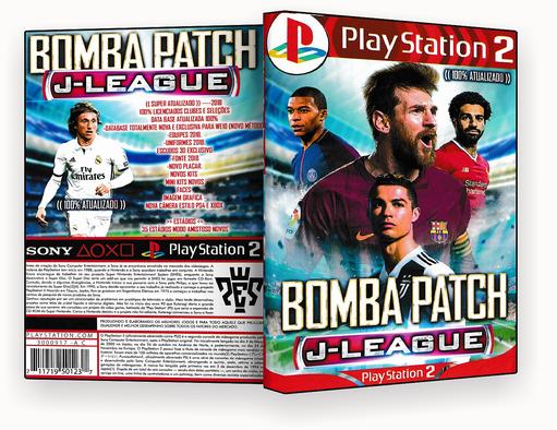 JOGO PS2 – Bomba Patch J-League 2019  – ISO