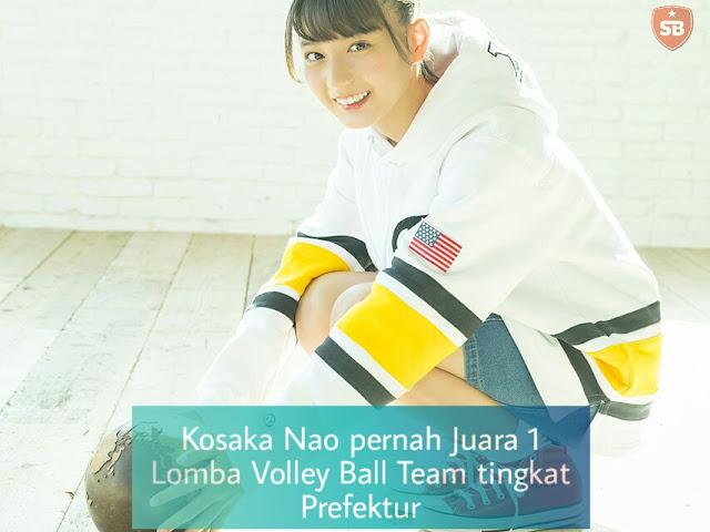 Fakta Kosaka Nao Keyakizaka46 Volley Ball Bola