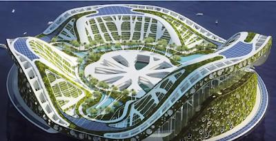 7 Bangunan Mewah, Termahal, Antisipasi Ketika Bumi Sudah Tidak Layak Huni