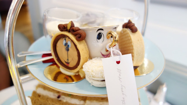 Try the grey stuff: Tale as old as time: beauty and the beast afternoon tea
