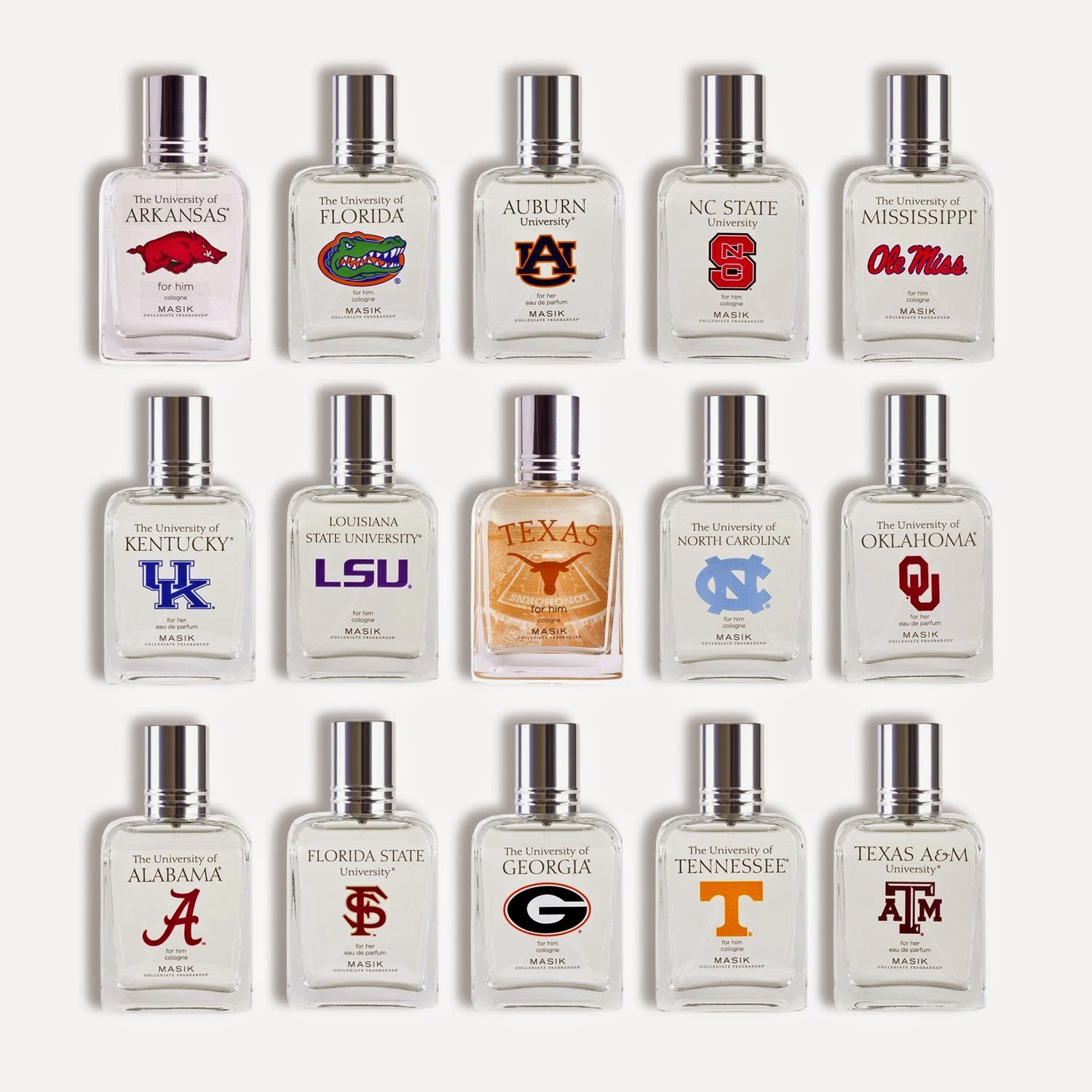Masik Collegiate Fragrances Eau de Parfum Spray