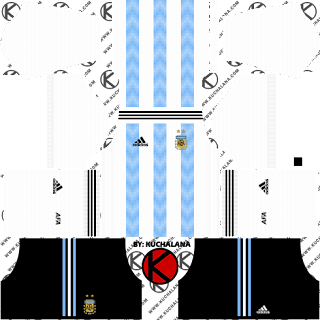 Argentina 2018 World Cup Kit -  Dream League Soccer Kits